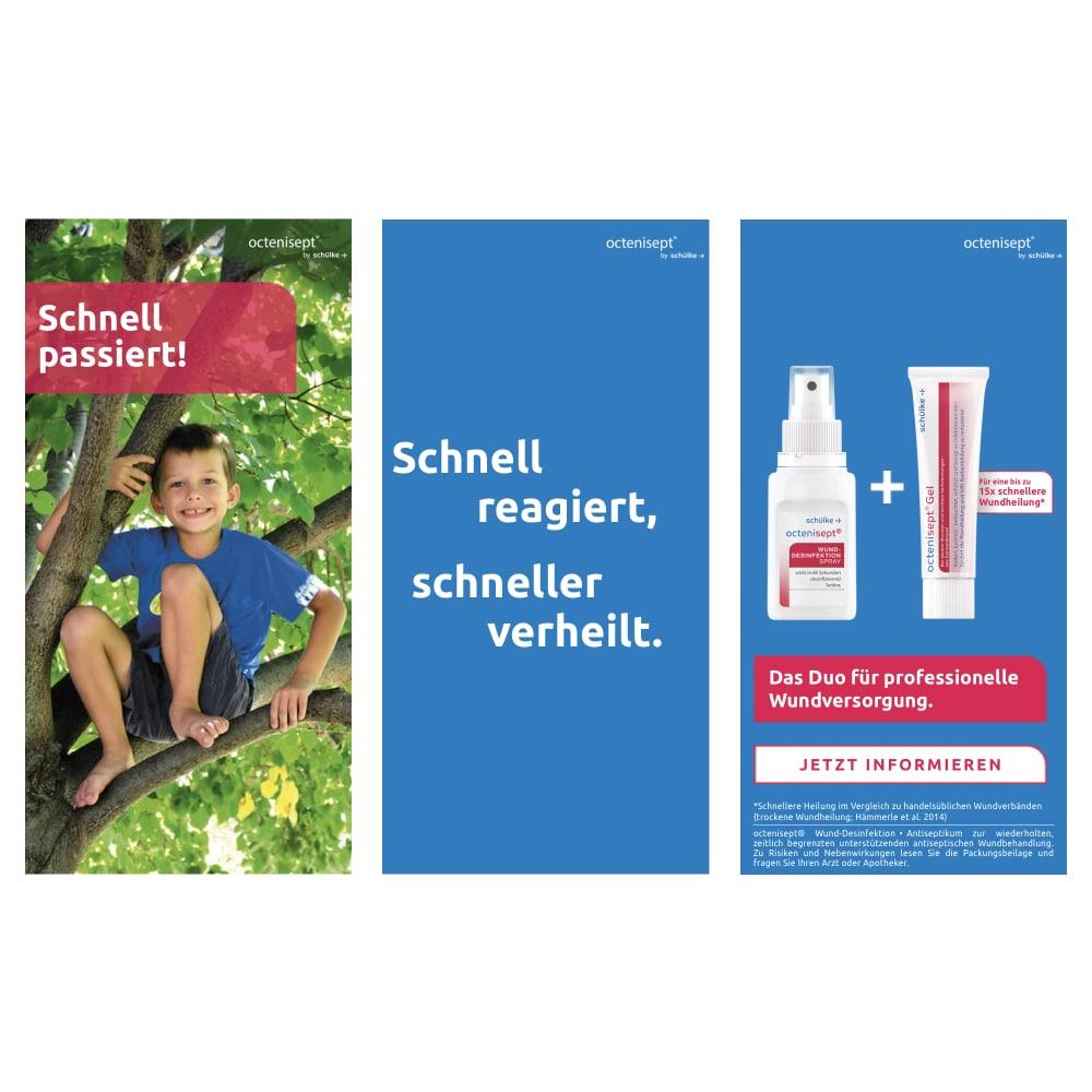 Schülke Octenisept digital campaign banner